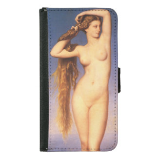 La Naissance de Venus durch Eugene Amaury Duval Samsung Galaxy S5 Geldbeutel Hülle