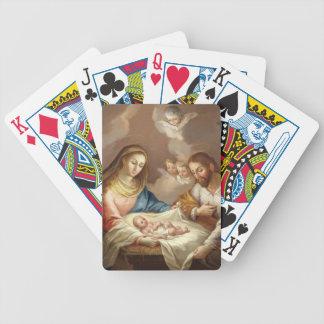 La Natividad Bicycle Spielkarten