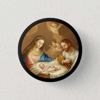 La Natividad Runder Button 2,5 Cm
