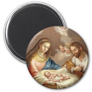 La Natividad Runder Magnet 5,7 Cm