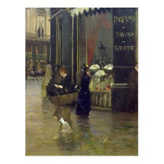 La Parfumerie Viollet, Boulevard-DES Capucines Postkarte