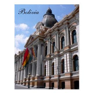 La Paz Bolivien Postkarte