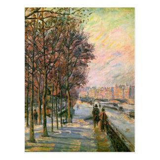 La-Platz Valhubert durch Armand Guillaumin Postkarten