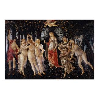 La Primavera (Frühling) durch Sandro Botticelli Poster
