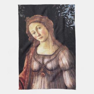 La Primavera im Detail durch Sandro Botticelli Handtuch