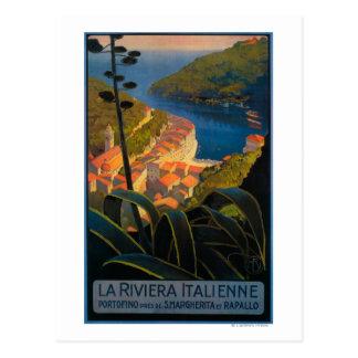 La Riviera Italienne Postkarte