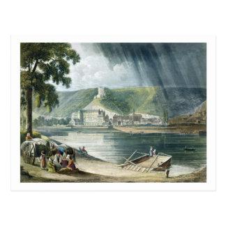 """La Roche, """"von den Ansichten über die Seine"""", Postkarte"""