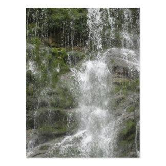 La-Rutschwasserfall in Forillon Nationalpark Postkarte