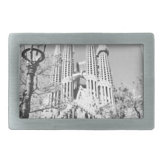 La Sagrada Familia Rechteckige Gürtelschnalle
