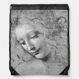 La Scapigliata durch Leonardo da Vinci Sportbeutel
