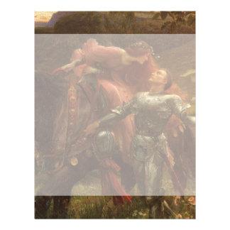 La-Schönheits-Freifrau ohne Merci, Dicksee, 21,6 X 27,9 Cm Flyer