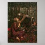 La-Schönheits-Freifrau Sans Merci, 1893 Posterdruck