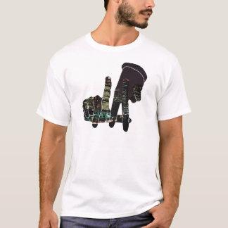 LA-Skylinehände T-Shirt