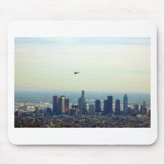 LA und Hubschrauber Mauspads