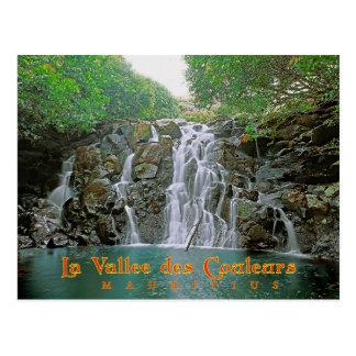 La Vallee DES Couleurs, Mauritius Postkarte