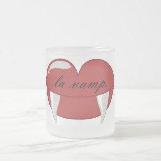 La Vamp-Hipster-Tasse Matte Glastasse
