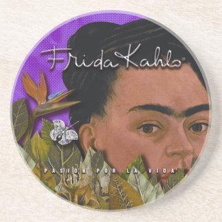 La Vida Frida Kahlos Pasion Por Sandstein Untersetzer