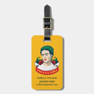La Vida Frida Kahlos | Viva Kofferanhänger