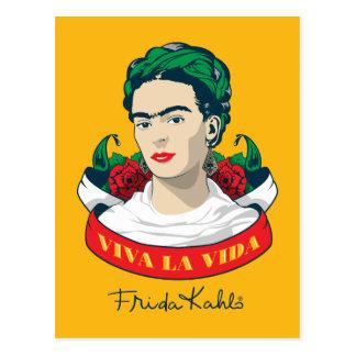 La Vida Frida Kahlos | Viva Postkarte