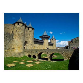 La zitieren Carcassonne Postkarte