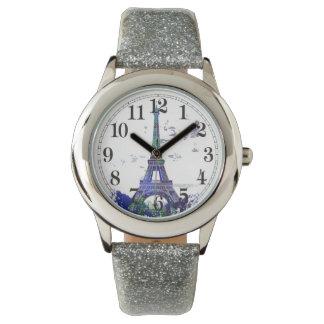 Laausflug Eiffel-Farbspritzen Uhren