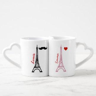 Laausflug Eiffel Paris Frankreich Partnertassen
