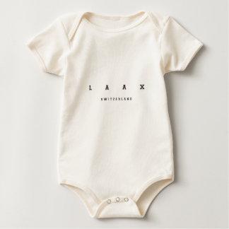 Laax die Schweiz Baby Strampler