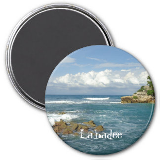 Labadee Meerblick-Gewohnheit Runder Magnet 7,6 Cm