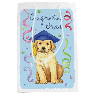 Labrador-Absolvent Mittlere Geschenktüte