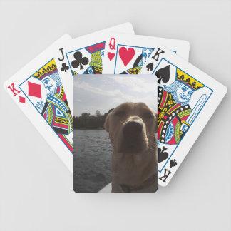 Labrador-Bootfahrt Bicycle Spielkarten