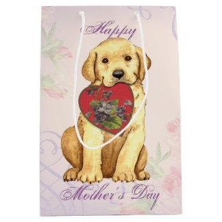 Labrador-Herz-Mamma Mittlere Geschenktüte