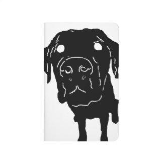 Labrador-Liebe! Taschen-Anmerkung Taschennotizbuch