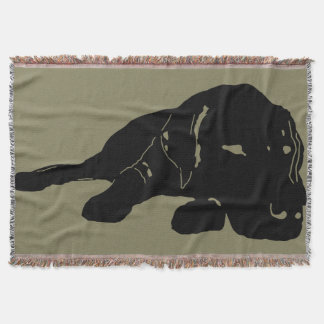 Labrador-Liebethrow-Decke Decke