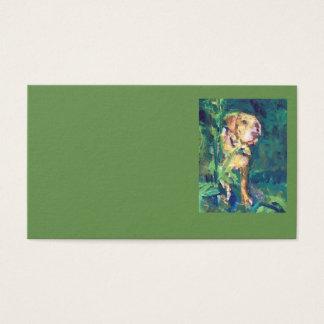 Labrador-Nebenfluss-Malerei-Geschäfts-Karten Visitenkarte