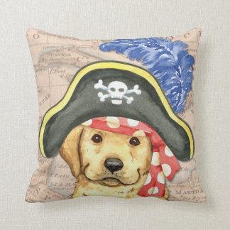 Labrador-Pirat Kissen
