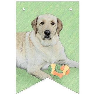 Labrador retriever (Gelb) Wimpelketten