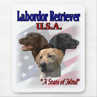 Labrador retriever-Geschenke Mousepad