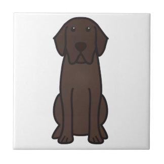 Labrador-Retriever-HundeCartoon Keramikfliese