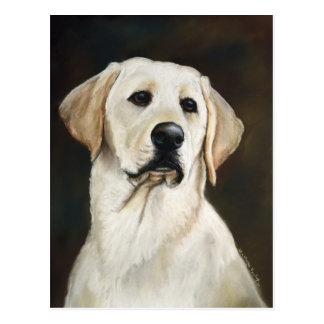Labrador retriever-Hundekunst-Postkarte Postkarte