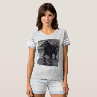 Labrador-Retriever-Hundekunst-T - Shirt