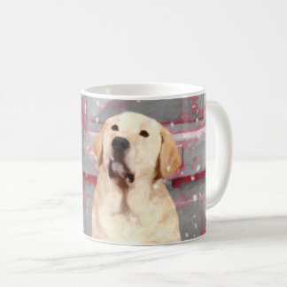 Labrador-Retriever-Labrador-WeihnachtsTasse Kaffeetasse