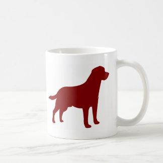 Labrador retriever (Red) Kaffeetasse