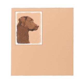 Labrador retriever (Schokolade) Notizblock
