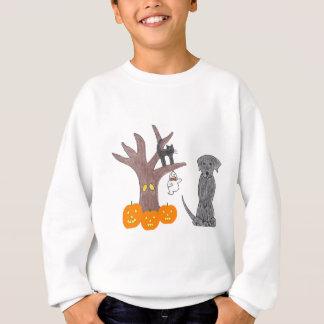 Labrador retriever-Schwarz-Fall-Sweatshirt Sweatshirt