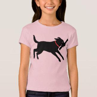 Labrador retriever (Schwarzes) T-Shirt