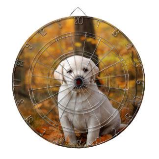 Labrador retriever-Welpe Dartscheibe