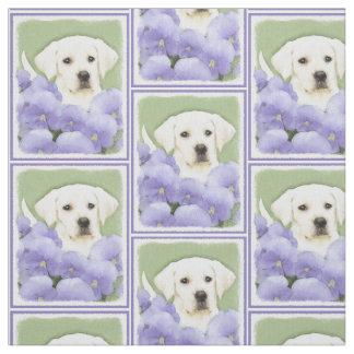 Labrador retriever-Welpe Stoff