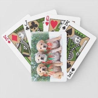 Labrador retriever-Welpen-Spielkarten Bicycle Spielkarten