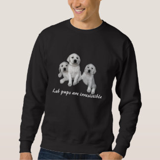 Labrador retriever-Welpen-UnisexSweatshirt Sweatshirt