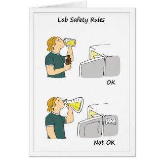 Labrador-Sicherheits-Regeln Karte